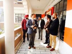 Collaboration of Adarsh School with SIU (USA)