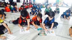 Kindergarten Celebrates World Post Day